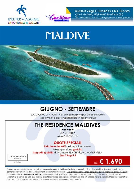 Maldive soggiorno di 7 notti - Trasferimenti ed assistenza in ...
